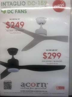 "52"" DC motor ceiling fan special offer"