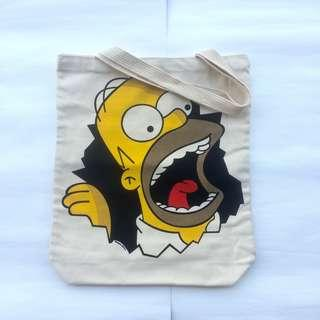 Tote Bag The Simpson Made in Thailand