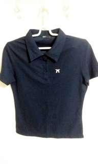💖 Firestar 深藍Polo衫 T shirt