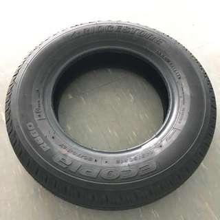 4 pcs of Bridgestone ECOPIA R680 tyres for sale