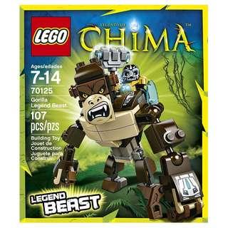 LEGO® Chima™ 70125 Gorilla Legend Beast (Retired/MISB)