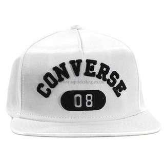 Converse Snapback Cap white