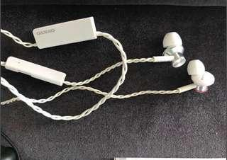 Onkyo E700BT White Bluetooth Headphones