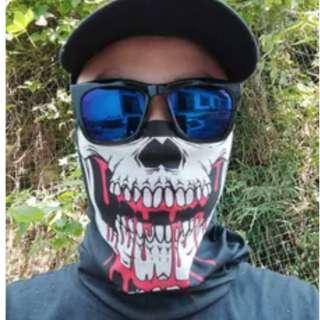 Brand new style Lower Skull Jaw Blood black Swat team SAF head sock buffer Bandanna Bandana limited stock!