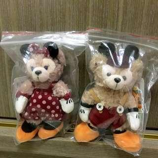 全新 Duffy shelliemay 達菲 雪莉玫 萬聖節 米妮 米奇 Minnie Mickey 米老鼠