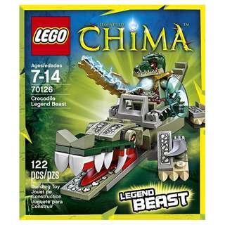 LEGO® Chima™ 70126 Crocodile Legend Beast (Retired/MISB)