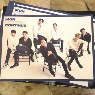 IKON - New Kids Poster