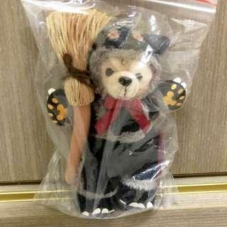 全新 Duffy 達菲 萬聖節 掃把 掃帚 黑貓 復刻 復刻版 吐舌 早期