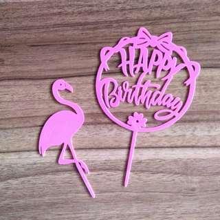 減價 !! 生日蛋糕插牌