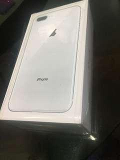 iPhone 8 Plus 64GB Brandnew Factory Unlock silver
