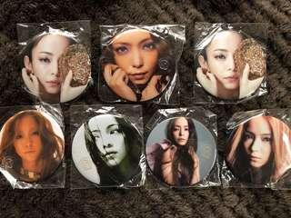 安室奈美惠 Final Space 磁石貼 中國製