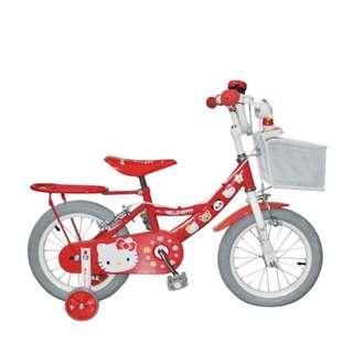 """Hello Kitty 14""""充氣輪胎單車"""