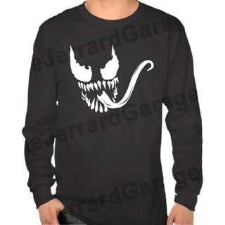 Venom (Fan Art) Long Sleeve T-Shirt
