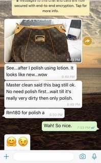 Review from customer. Authentic LV Galleria MM. Thank you for your trust. Good Bargain!!😊👍🏻