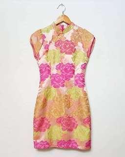 Jacquard emboss dress REPRICE NETT