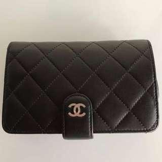 Chanel classic lambskin wallet