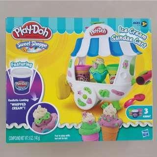 PlayDoh Ice Cream Sundae Cart - Children Gift