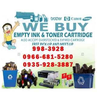 High Price Offer Hp Canon Buyer of Empty Ink Cartridges and Toner