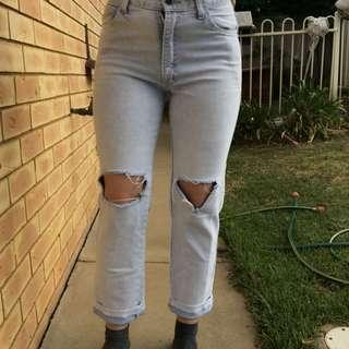 Ripped Jeans size 10-12