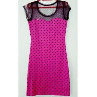Candies Pink Party Dress