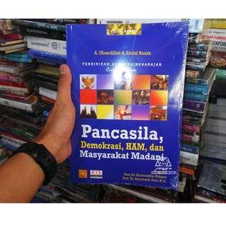 Buku Pancasila, Demokrasi, HAM, dan Masyarakat Madani Oleh Ubaedillah
