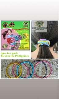 MJVG Organic Hair Loop Bands Anti-Lice Anti-Mosquito