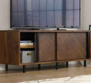 Media console storage table