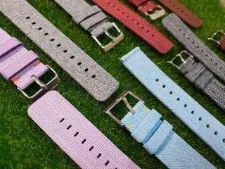 🚚 Fitbit Versa Pastel Canvas Straps Replacement