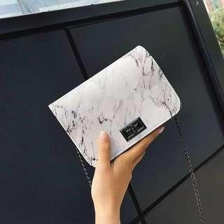 (PO) Korean Marble Sling Bag