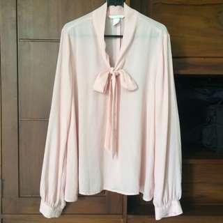 Blouse Pink H&M