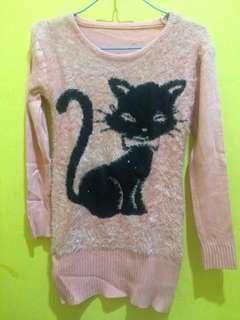 Sweater pink - Baju Pink