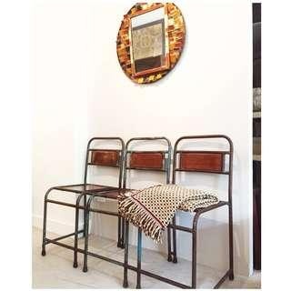 Vintage 3-seater chair