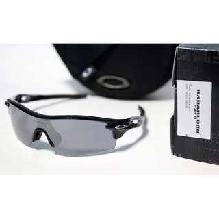 SALE! Oakley Radarlock Path Polished Black w/ Black Iridium Lens(Asia Fit)