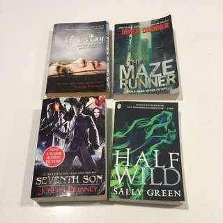 Young Adults Novels for clearance
