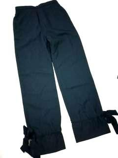 Dark Navy/Black Pinstripe Dress Pants Formal