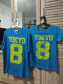 Super Dry couples Tshirt (XL & S)