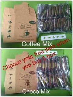 Mother Nurture Coffee & Choco Mix