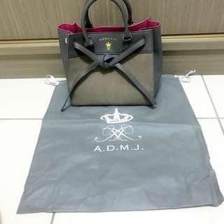 全新 admj a.d.m.j sk2 skII 聯名款 包包 手提包 側背包 斜背包 長背帶