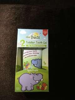 Tiny Buds stage 2 toddler toothgel