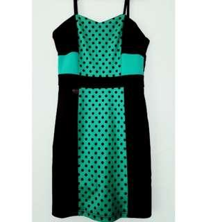 Candies Green Party Dress