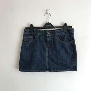 Denim Jeans Mini Skirt #MY1010