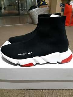 Balenciaga Speed Runner Black Red (REPLICA)