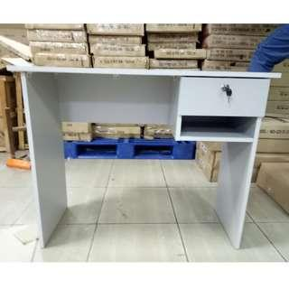 Office Table 1 drawer Grey