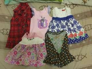 Bargain 5 pcs dress