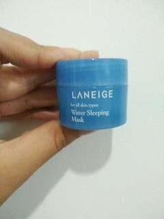 Laneige Water Sleeping Mask trial size