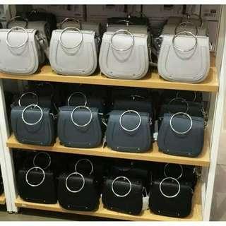 Tas sling bag Miniso
