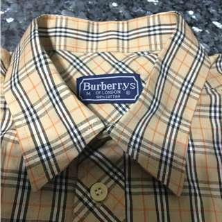 Burberry 經典格紋襯衫