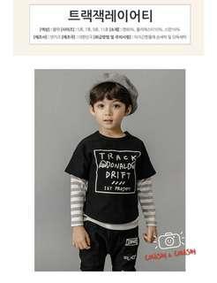😍😍100%韓國製造 舒適小童衞衣(男) 😍😍