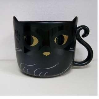 🚚 starbucks㊣星巴克派對變裝貓馬克杯㊣12oz(355ml)-黑貓-萬聖節