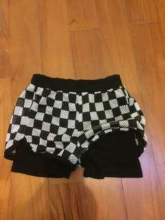 Free mail! Girl shorts 1-2yr